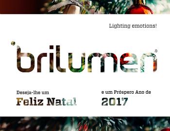A Brilumen deseja-lhe Boas Festas!