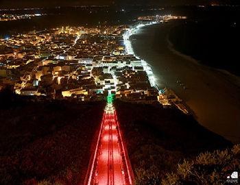 Ascensor da Nazaré com Iluminação LED