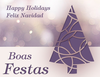 Boas Festas / Happy Hollidays / Felices Fiestas