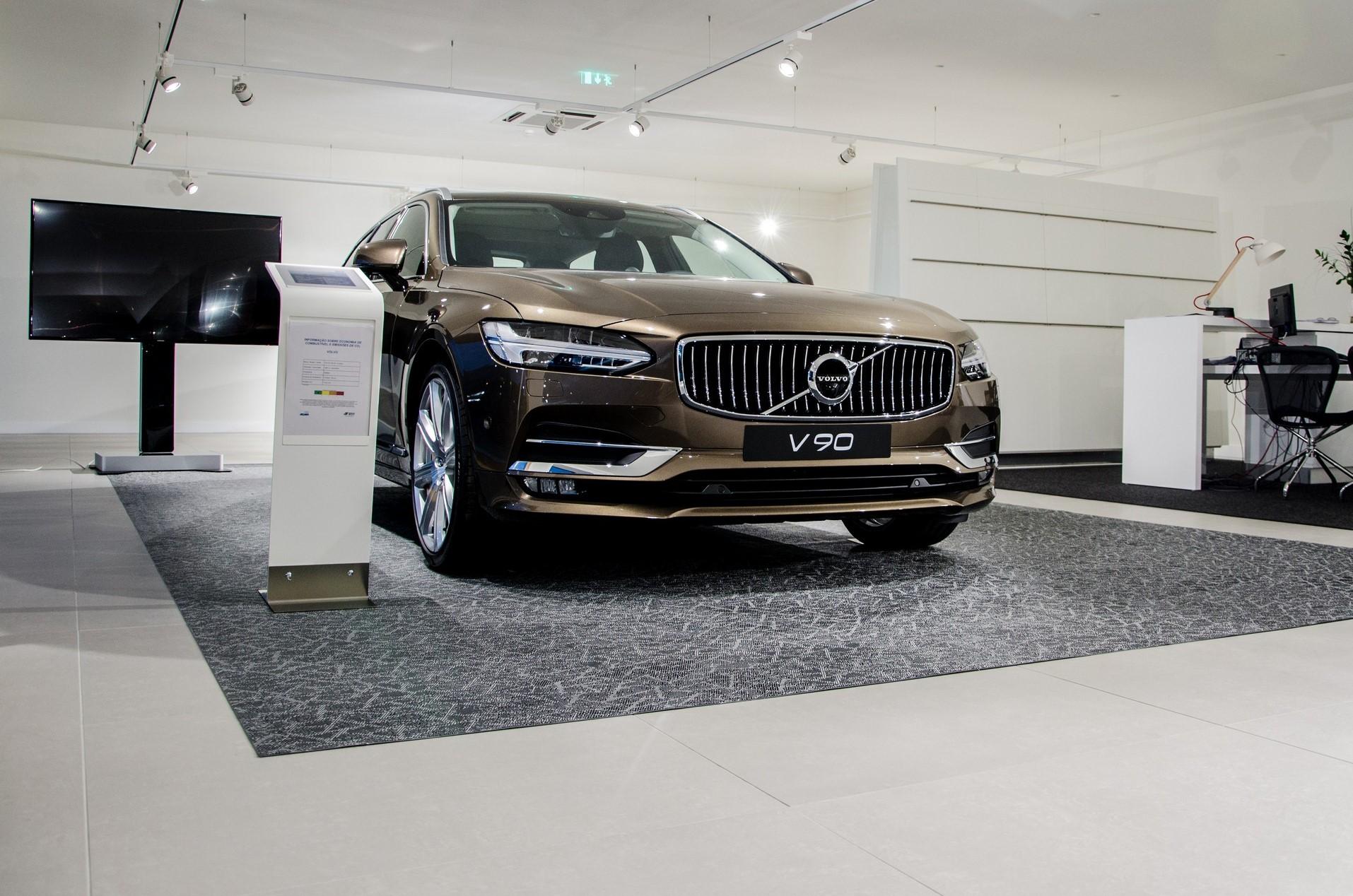 Concessionário de automóveis Volvo