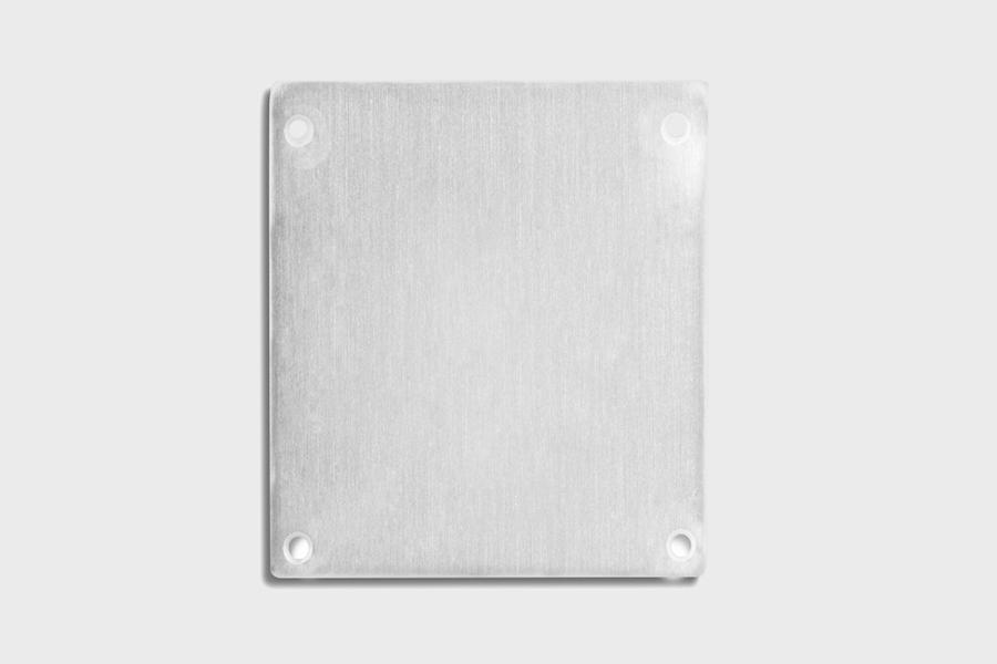 E69 - Aluminium End Cap
