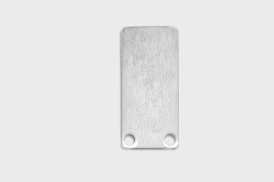E18 - Aluminium End Cap