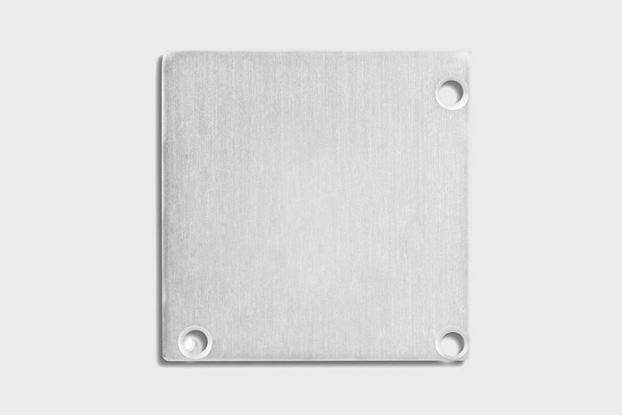 E52 - Aluminium End Cap