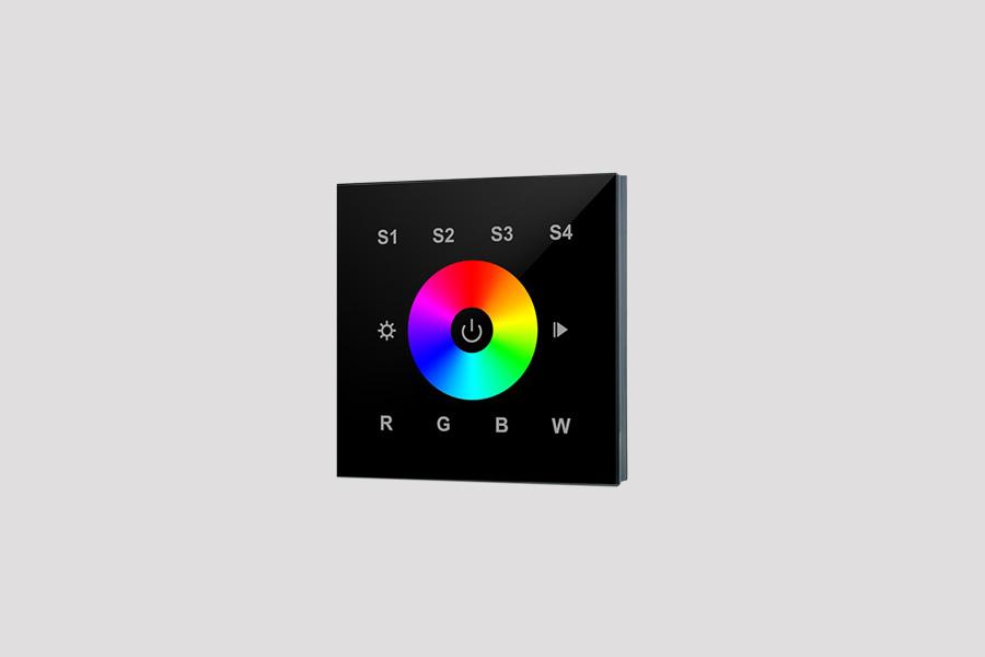 Controle parede RF RGBW
