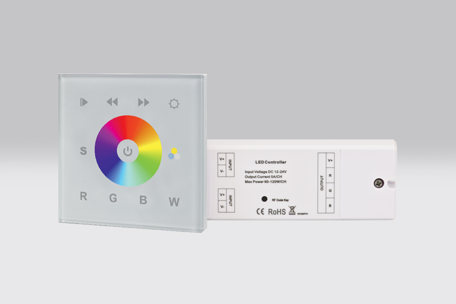Controlador RF/WiFi RGBW